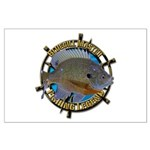 Bluegill Master Large Poster