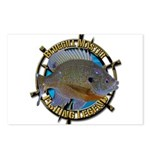 Bluegill Master Postcards (Package of 8)