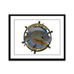 Bluegill Master Framed Panel Print