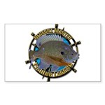 Bluegill Master Sticker (Rectangle)