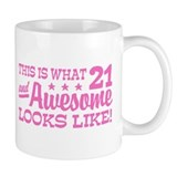 Funny 21st Birthday Small Mug