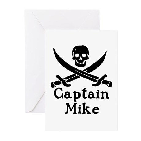 Captain Mike Greeting Cards (Pk of 10)