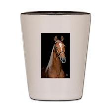 Sorrel Horse Shot Glass