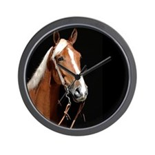 Chestnut Horse Wall Clock