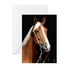 Chestnut Horse Greeting Cards (Pk of 10)
