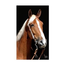 Chestnut Horse Decal
