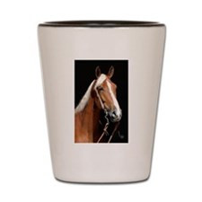 Chestnut Horse Shot Glass