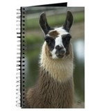 Brown and White Llama Journal