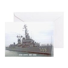 USS CONY Greeting Card