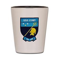 USS CONY Shot Glass