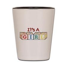 It's A Girl Shot Glass