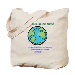 We All Smile in the Same Lang Tote Bag