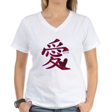 LOVE WRITTEN IN JAPANESE Shirt