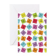 Periodic Elements Greeting Card