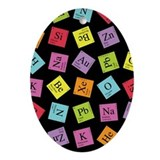 Periodic Elements Ornament (Oval)