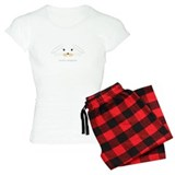 bunny face - lop ears pajamas