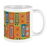 Orange Brick Small Mugs