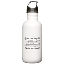 Unique Teacher voice Water Bottle