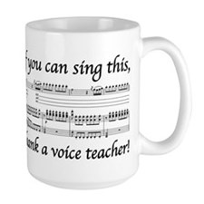 Cute Teacher voice Mug
