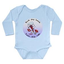 Cajun Crawfish Long Sleeve Infant Bodysuit
