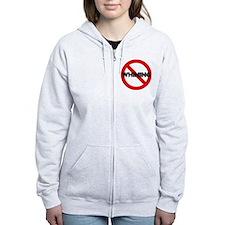 No Whining Women's Zip Hoodie