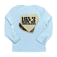 Box Of Chocolates Long Sleeve Infant T-Shirt