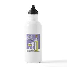 Team White Wine Water Bottle