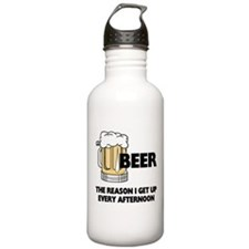 Beer Every Afternoon Sports Water Bottle