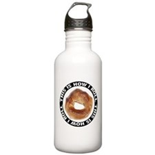 How I Roll Bagel Stainless Water Bottle 1.0L