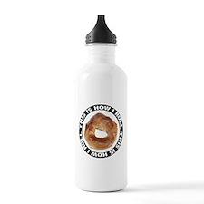How I Roll Bagel Water Bottle