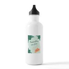Butterflies Are Free Water Bottle