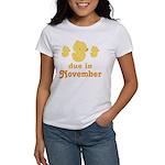 November Baby Duck Women's T-Shirt