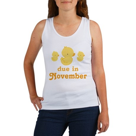 November Baby Duck Women's Tank Top