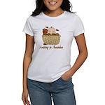 Baby Arriving In November Women's T-Shirt