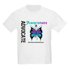 Purple & Teal Butterfly T-Shirt
