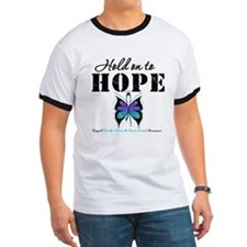 Purple & Teal Hope T
