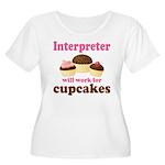 Funny Interpreter Women's Plus Size Scoop Neck T-S