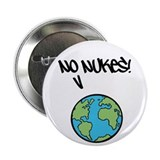 "No Nukes! 2.25"" Button (10 pack)"