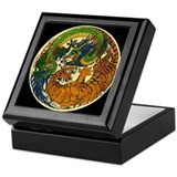 Cute Dragons Keepsake Box