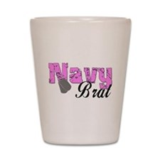 Navy Brat Shot Glass