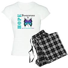 Purple & Teal Hope Deco Pajamas