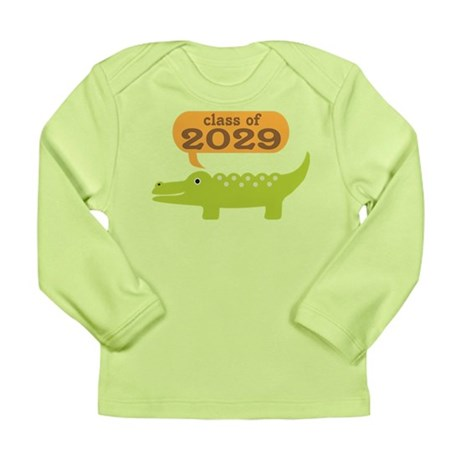 Class Of 2029 Alligator Long Sleeve Infant T-Shirt