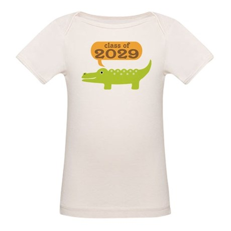 Class Of 2029 Alligator Organic Baby T-Shirt