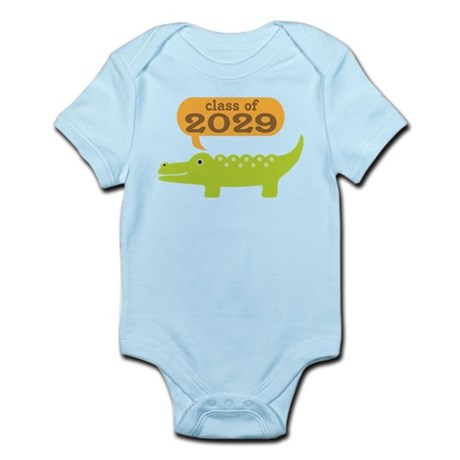 Class Of 2029 Alligator Infant Bodysuit