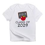 School Class Of 2029 Apple Infant T-Shirt
