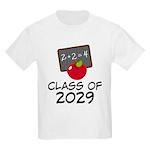 School Class Of 2029 Apple Kids Light T-Shirt