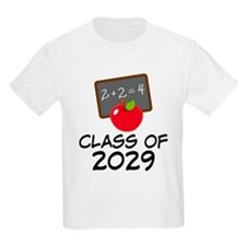 School Class Of 2029 Apple T-Shirt