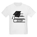 Class Of 2029 Grad Book Design Kids Light T-Shirt