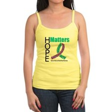 Purple & Teal Hope Matters Jr.Spaghetti Strap