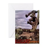 Saguaro Zombies Zombie 1 Greeting Cards (Pk of 10)